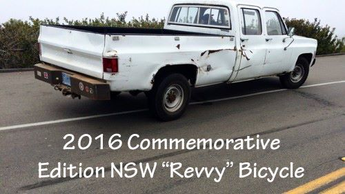 "2016 Commemorative Edition NSW ""Revvy"" Bicycle"
