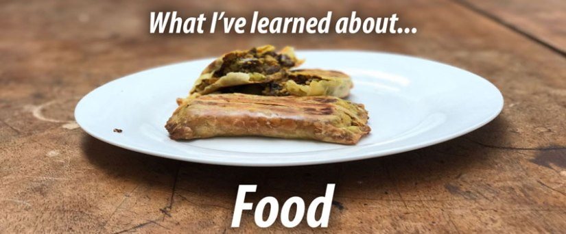 What I've learned about food while living onless